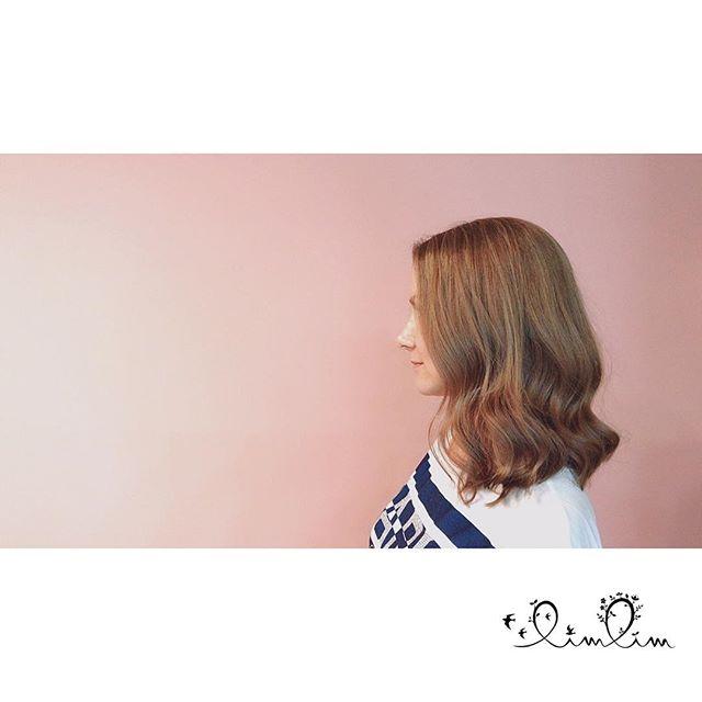 .エレナさんカラーでご来店です??.透明感のある明るい髪がとてもお似合いです♡♡.またお待ちしております♡